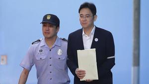 أسهم سامسونغ تهبط 1.5% بعد حكم بسجن وريث الشركة