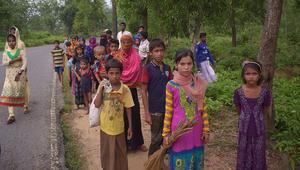 الأمم المتحدة: أكثر من 70 ألف شخص من مسلمي الروهينغا هربوا إلى بنغلاديش