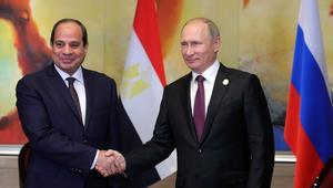 بوتين: علاقات روسيا ومصر تتحسن وسأزور القاهرة في الوقت المناسب