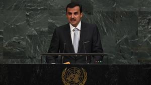 تميم بن حمد بـUN: القطريون اعتبروا الحصار غدرا وسنظل كعبة للمضيوم