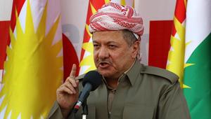 """مسعود البارزاني: مستعدون للحوار مع بغداد بـ""""أجندة مفتوحة"""""""