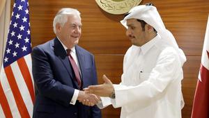 تيلرسون في قطر: واشنطن لا تستطيع فرض حل للأزمة الخليجية