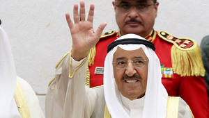 """أمير الكويت يغادر المستشفى بعد """"فحوص ناجحة"""""""