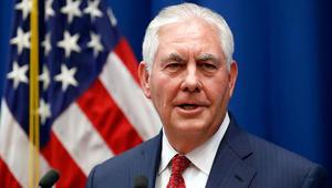 تيلرسون لشبكتنا: ندعم طموحات الشعب الإيراني في إجراء انتقال سلمي للسلطة