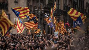 زاخاروفا توضح موقف روسيا من إعلان استقلال كتالونيا