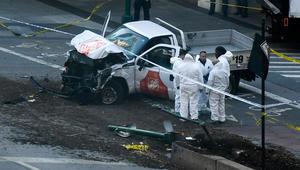 عمدة نيويورك حادث الدهس بمانهاتن عمل إرهابي والقتلى 8