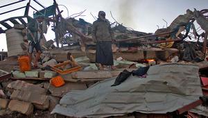 الحوثيون يتهمون التحالف العربي بقصف سوق في صعدة.. والمالكي: نحقق