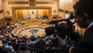 صورة لمقر جامعة الدول العربية خلال اجتماع عقد في العاصمة المصرية القاهرة
