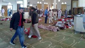 الهجوم الإرهابي الأكثر دموية في مصر يستهدف مصلين في مسجد