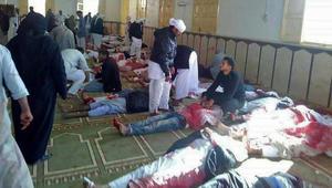 السيسي عن هجوم مسجد الروضة: سنرد بقوة غاشمة