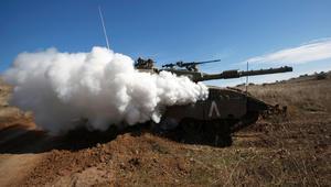 """صواريخ إسرائيلية على موقع عسكري بريف دمشق.. والجيش السوري """"يتصدى"""" لها"""