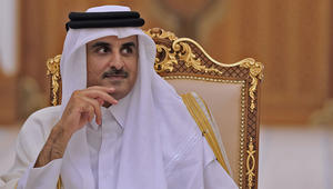 """أمير قطر يهنئ روحاني برمضان ويشكره على موقف إيران من """"الحصار"""" وتخفيف آثاره"""