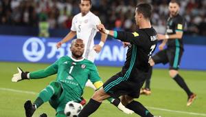 شاهد.. أبرز الكرات التي تألق في صدها علي خصيف أمام ريال مدريد