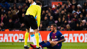 """التحكيم.. صداع في رأس برشلونة قبل """"الكلاسيكو"""" أمام ريال مدريد"""