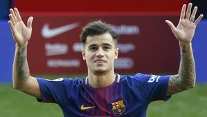 """برشلونة يقدم كوتينيو أمام جماهير الفريق في ملعب """"كامب نو"""""""