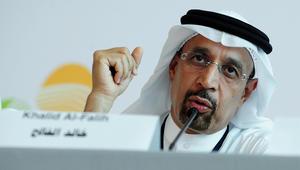 وزير الطاقة السعودي يتوقع استمرار خفض انتاج النفط للنصف الثاني بـ2017