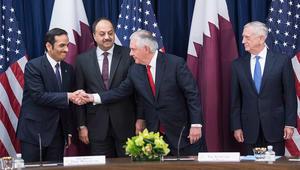 تيليرسون بالحوار الاستراتيجي الأمريكي القطري: تقليل حدة الخطاب بالأزمة الخليجية مهم