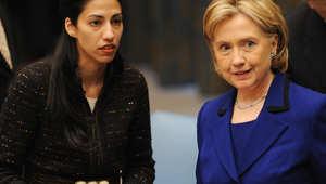 هما عابدين.. الشكوك تطارد مساعدة هيلاري كلينتون بعد فقدان هاتفها الحكومي