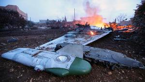"""روسيا: سقوط طائرة """"سوخوي 25"""" في سوريا.. ومقتل طيارها في مواجهة مع """"إرهابيين"""""""