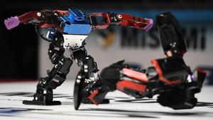 في طوكيو.. معارك قتالية بين روبوتات!