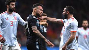 بدون ميسي.. الأرجنتين تتلقى الهزيمة الأكبر في تاريخها أمام إسبانيا