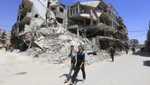 وصول مفتشي منظمة حظر الكيماوي إلى مدينة دوما السورية