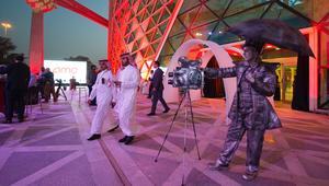 شاهد.. ما وراء كواليس أول عرض سينمائي في السعودية