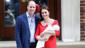 """كيت ووليام يسميان مولودهما الجديد """"الـ5 على خط ورثة عرش بريطانيا"""""""
