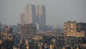 مباني في وسط العاصمة المصرية القاهرة