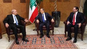 المشنوق وباسيل يحتفظان بالداخلية والخارجية في الحكومة اللبنانية الجديدة.. والحريري: حكومة انتخابات