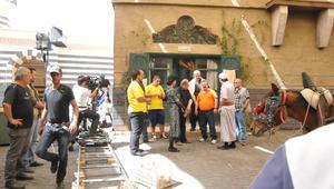 كواليس باب الحارة 8 بالصور