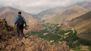 صورة لجبال الأطلس المغربية