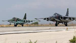 المرصد السوري: مقتل 682 مدنياً بينهم 157 طفلاً في غارات طائرات روسيا ونظام الأسد منذ بداية يناير