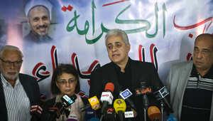"""حملة على صباحي تتهمه بـ""""الهجص"""" و""""إثارة الشباب"""" بعد تحذيره للسيسي من تداعيات تبرئة مبارك"""