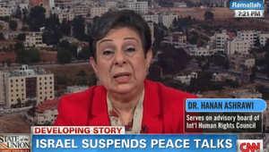عشراوي لـCNN: ليس على حماس الاعتراف بإسرائيل ولم نطلب من نتنياهو إقالة ليبرمان