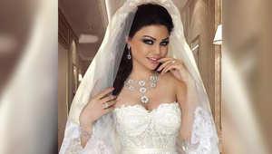 الصديق المريب لهيفاء وهبي وفستان زفافها يثيران الجدل