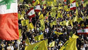 """أنصار """"حزب الله"""" يحملون راية الحركة"""