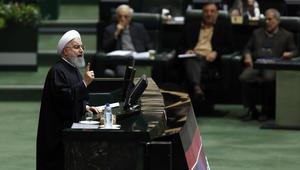 روحاني: شعب إيران بملايينه الهادرة سيتصدى لمثيري الشغب