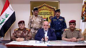 """العبادي: القوات العراقية حررت الفلوجة من سيطرة """"داعش"""".. والموصل وجهتنا القادمة"""