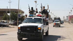 صورة ارشيفية لعناصر أمن عراقية