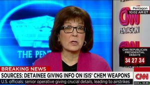 """مصادر لـCNN: أمريكا تقصف مواقع لـ""""داعش"""" بالعراق يرجح وجود أسلحة كيماوية فيها بعد استجواب قيادي من التنظيم"""