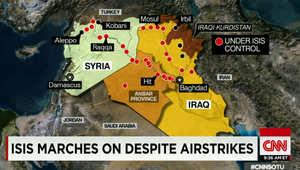 سيناتور أمريكي لـCNN: داعش تأقلم مع الضربات الجوية وينتصر.. والتنظيم يمكنه السيطرة على مطار بغداد