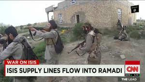 """أمريكا تتنبأ محاولة العراقيين استرداد الرمادي من """"داعش"""""""