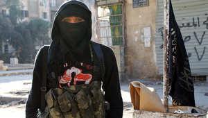 أحد مقاتلي داعش في سوريا