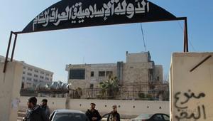 صورة أرشيفية لمقر تابع للدولة الإسلامية في العراق والشام