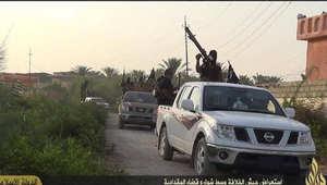 لقطة ارشيفية لعناصر داعش