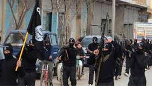 صورة ارشيفية لعناصر من داعش