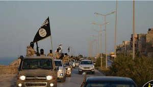 صورة لعناصر من داعش