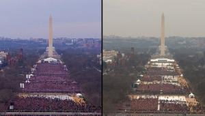 البيت الأبيض يهاجم وسائل الإعلام بسبب المقارنة الدقيقة بين حشود تنصيب ترامب وأوباما