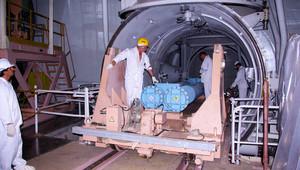 صورة أرشيفية داخل منشأة نووية بإيران